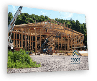 post frame pole barn construction financing auburn lyons newark finger lakes NY