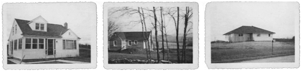 Secor home building in world war 2