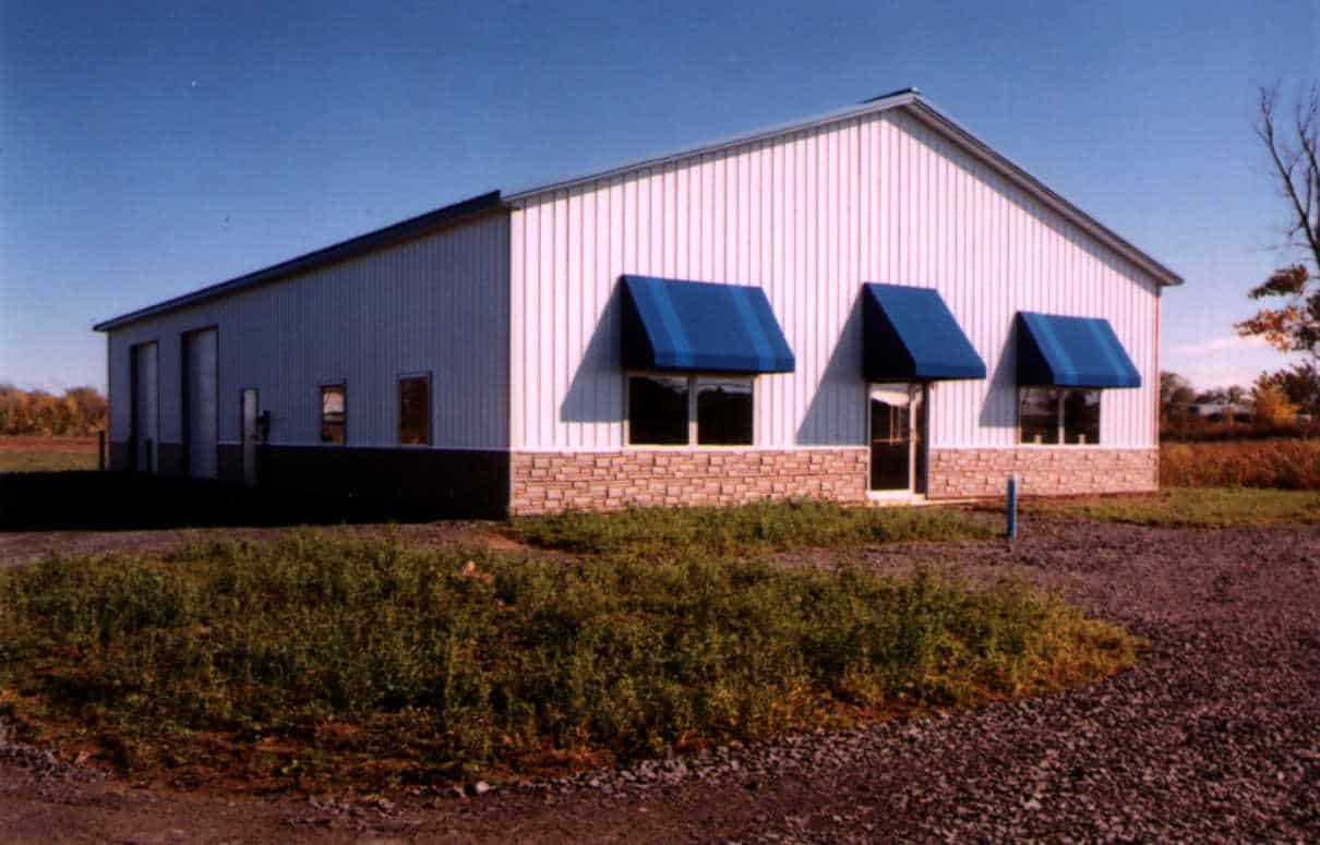 Post frame building solutions advantages rochester ny for Pole barns ontario