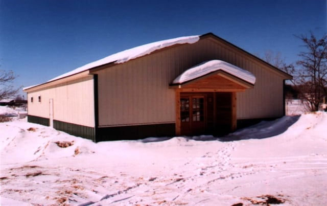 Snow Load Design for Central New York Pole Barns