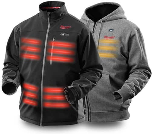 Milwaukee Heated Jackets for Contractors