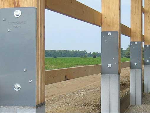 Perma-column for building construction
