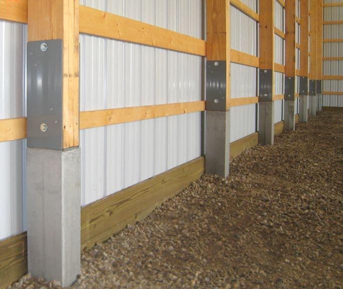 permacolumn post frame construction ny