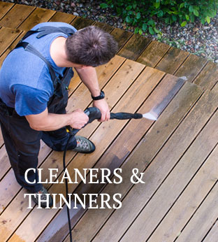 paint coatings cleaners thinners removers